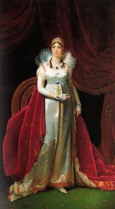 Joséphine Bonaparte, veuve de de Beauharnais, née Tascher de la Pagerie (1763-1814), impératrice des Français (1805-1809)