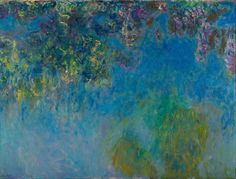 Wisteria by Claude Monet