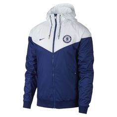 The Premier Online Soccer Shop. Gear up for 2018 FIFA World Cup Russia Shop a huge selection of authentic and official soccer jerseys, soccer cleats, balls and apparel from top brands, soccer clubs & teams Chelsea Soccer, Chelsea Fc, Nike Jacket, Rain Jacket, Men's Jacket, Football Jackets, Windrunner Jacket, Sport Wear, Summer Wear