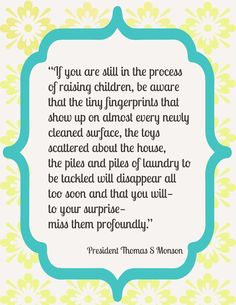 Thomas S Monson quote about family. #Monson | http://awesome-famous-quote-collections.blogspot.com