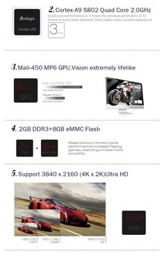 MXIII 4K Quad-Core Android 4.4.2 Google TV w/ Wi-Fi, Bluetooth, HDMI | The Knick Knack Shop.