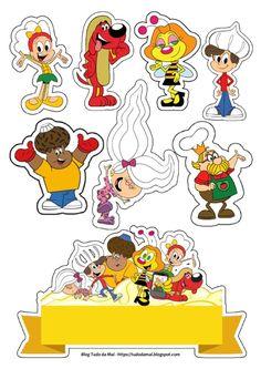Acesse ao meu blog para mais opções de tags e topo.  Para melhor resolução acesse o blog!;)  #topo #tag #topper #zuzu #reiapetite #pipoca #suspiro #laricao #mariamole #brigadeiro Topper, Tags, Peanuts Comics, Disney Characters, Fictional Characters, Popcorn, Craft, Amor, Fantasy Characters