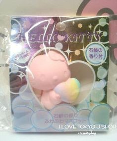 RARE Hello Kitty Soap scented squishy mascot squeeze