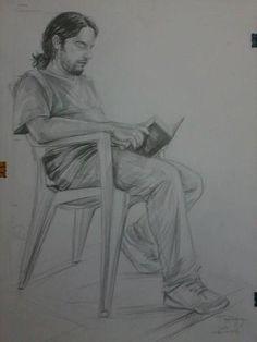 Karakalem model çizimi gaf hazırlık. Gesture Drawing, Body Drawing, Life Drawing, Figure Sketching, Figure Drawing, Drawing Reference, Pencil Art Drawings, Drawing Sketches, Human Sketch