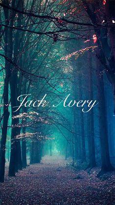 Jack Avery wallpaper, photo via Pinterest