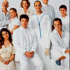 Now the story of a wealthy family and the one son who had no choice but to keep them all together. It's Arrested Development!