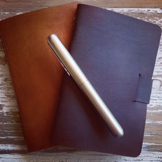Handmade Leather Notebooks by Eleisha Nylund