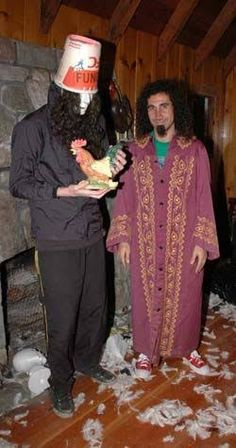 Serj And Buckethead