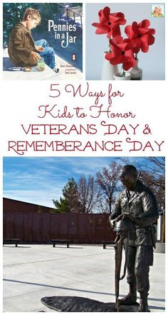 Books and activities that help kids to understand Veterans Day & Remembrance Day Life experiences, books and activities that teach kids about how to honor and remember those who we have lost during wartime. Veterans Day For Kids, Happy Veterans Day Quotes, Free Veterans Day, Veterans Day Images, Veterans Day Activities, Kids Learning Activities, Teaching Kids, Fun Learning, News Articles For Kids