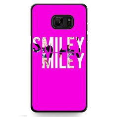 Smiley Miley TATUM-9718 Samsung Phonecase Cover For Samsung Galaxy Note 7