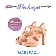 Compartimos un flechazo de viernes de la Nueva Colección SS/16 ¡ Nuestras sandalias de tacón cruzadas !  Descubre la Colección Primavera / Verano 2016, disponible ya en tu tienda MARYPAZ más cercana y en marypaz.com   #flechazo #shoesobssession #obsesionadaconloszapatos #obsesion #tendencias   Compra estas SANDALIAS DE TACÓN COLOR NUDE aquí ► http://www.marypaz.com/tienda-online/sandalia-de-tacon-cruzada-58484.html?sku=73466-35