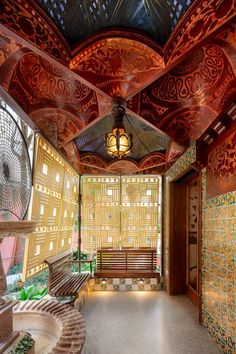 Today brings us back to that magic by Gaudi , Casa Vicens ❤️  #realestate #miamirealestate #miami #miamibeach #realtor #architecture #modernhomes #modernarchitecture  #design #designer #architect #newyork #luxurylifestyle #luxury  #luxuryhomes #luxurycars #luxuryliving #luxuryapartments #luxuryhomes #palmbeach #interiors #interiordesign #modernbuilding #preconstructionmiami #buyrealestate #realestateinvesting #investing #inspiration #investor #losangeles #sanfrancisco