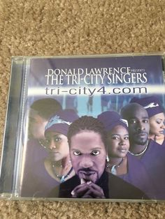 Donald Lawrence Presents The Tri-City Singers Music CD