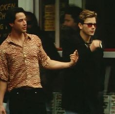 River Phoenix and Keanu Reeves - My Own Private Idaho Stanley Kubrick, River Phoenix Keanu Reeves, River Phoenix Movies, My Own Private Idaho, Keanu Charles Reeves, River I, Young Actors, Downey Junior, Robert Downey Jr