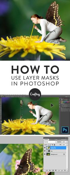 Learn how to combine multiple photographs into a single image using Adobe Photoshop layer masks.