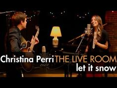 """Christina Perri - """"Let It Snow"""" captured in The Live Room #December #Christmas"""