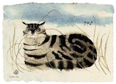 Cat - Mary Fedden - WikiPaintings.org