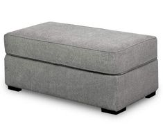 Naples Gray Ottoman Living Room Sectional, Grey Sectional, Living Rooms, Grey Ottoman, Big Lots Store, Fabric Bins, Cocktail Ottoman, Chenille Fabric, Cushion Filling