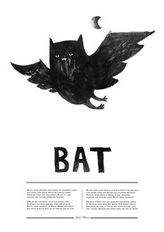~words & illustrations~ 'bat illustration' (3) Tumblr