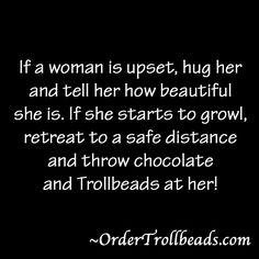 Trollbeads and chocolate!~ Hahahaha~
