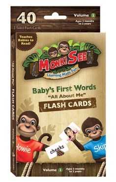 Baby's First Words flash cards  #flashcards, #sightwords, #smartbabies, #bodypartsflashcards, #firstwords