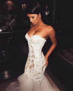 bride and white dress image