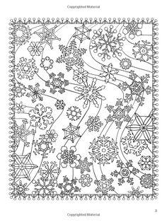 ChristmasScapes (Дувр отдыха Книжка-раскраска): Джессика Мазуркевич: 9780486471952: Amazon.com: Книги