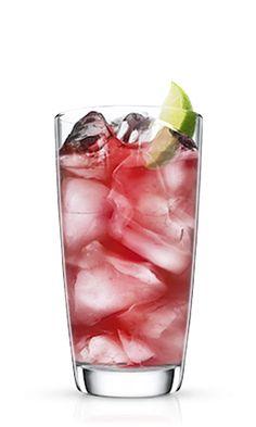 Malibu Mango & Cranberry - Malibu rum drinks