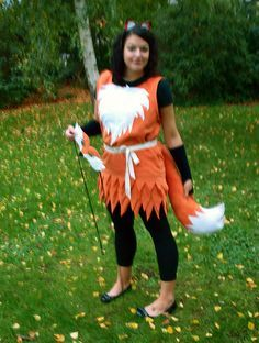 This would look so cute on a little girl! I think I've just found my old's Halloween costume! Halloween 2014, Diy Halloween Costumes, Holidays Halloween, Halloween Party, Diy Fox Costume, Foxy Costume, Unicorn Costume, Halloween Ideas, Game Costumes