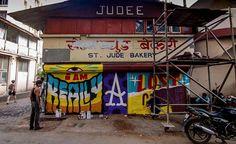 ST+ART DELHI 2015 http://www.widewalls.ch/start-delhi-2015-street-art-festival-india/ #street #art #artfair #delhi