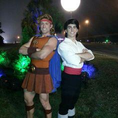 WDW Walt Disney World Heroes Princes Prince Eric Hercules In-Laws Princess Half Marathon