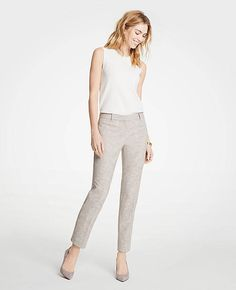 The Ankle Pant In Texture | Ann Taylor