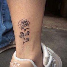 Rose tatuagem
