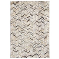 Captivating Spruce Up The Look Of Your Home With The Hand Stitched Grey Chevron Cow  Hide Leather Rug. This Rug Features A Unique Chevron Pattern In Shades Of  Grey That ... Pictures Gallery