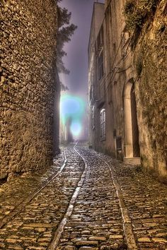 Cobbled Streets of Sicily - HDR Photo by Stefan L - Photo taken at Antica Erice, Sicily, Italy |
