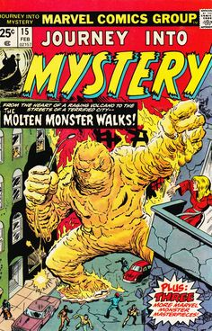 Journey Into Mystery, Feb. #vintage comics covers