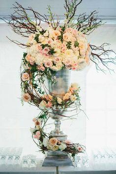 Luxe Boho Wedding Flowers