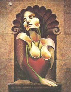 Passion of the Lilies- Octavio Ocampo