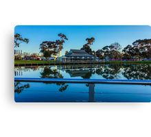 The Boardwalk Reflections at Lake Weeroona, Bendigo, Victoria Canvas Print