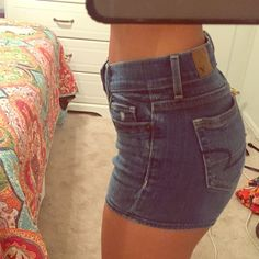 AE high waisted shorts S cute American Eagle Outfitters Shorts Jean Shorts