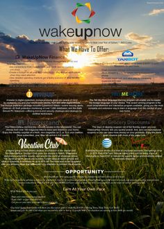 Wake Up Now Products feel free to ask me questions or email me at samanthaardino@aol.com