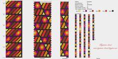 15 around bead crochet rope pattern