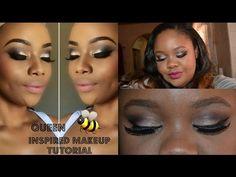 ♡ A Bonang Matheba Inspired Makeup Tutorial ♡ Nicole Khumalo ♡ South Afr. Makeup Tutorials Youtube, Wedding Makeup, Makeup Inspiration, Contour, Highlight, African, Inspired, Wedding Make Up, Contouring