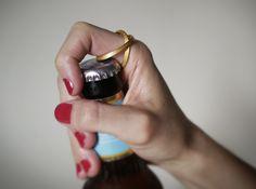 bottle opening ring