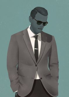 Jack Hughes' scotch sipping, cigarette smoking illustrated dandies are an absolute joy Pop Art Illustration, Free Illustrations, Character Illustration, Fashion Illustrations, Freelance Illustrator, Character Design, Character Art, Tumblr, Cool Stuff