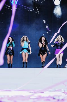 Little Mix Performing at Capital FM's Summertime Ball - June 6th, 2015