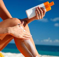 Sunscreen Saves Lives Cover all uncovered places for Maximum protection!