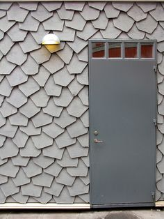 Iceland : Iceland, photo by Simon Oud Interior Walls, Home Interior, Interior And Exterior, Tile Patterns, Textures Patterns, Exterior Cladding, Building Exterior, Facade Architecture, Textured Walls