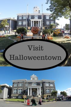 Visit Halloweentown in Oregon!You can find Oregon travel and more on our website.Visit Halloweentown in Oregon! Oregon Road Trip, Oregon Travel, Travel Usa, Travel Portland, Travel Kids, Halloween Town, St Helens Oregon, The Places Youll Go, Places To Go