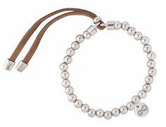 "B & L Armband ""Brugge"" - Silver  #B&L #Steel #Leather #Bracelet #Sazou #Mushaves #Trendy #Armband #Women #Vrouw #Juwelery #Sieraden #Armbanden"